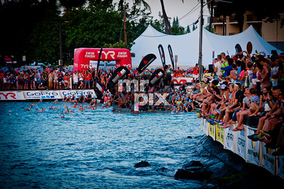 Sports Photography by Michael Moore - Ironman Men's Pro Swim
