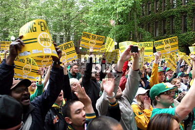 Sonics Rally_Downtown Seattle