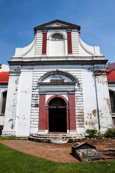 COLOMBO. WOLVENDAAL CHURCH - A DUTCH REFORMED COLONIAL VOC CHURC