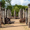 POLONNARUWA. QUADRANGLE. HATADAGE [TOOTH RELIC CHAMBER]. AN UNESCO WORLD HERITAGE SITE. SRI LANKA.