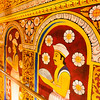 KANDY. TEMPLE OF THE SACRED TOOTH RELIC. SRI DALADA MALIGAWA. ENTRANCE. CENTRAL SRI LANKA.