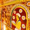 KANDY. TEMPLE OF THE SACRED TOOTH RELIC. SRI DALADA MALIGAWA. ENTRANCE. CENTRAL SRI LANKA.