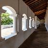 Hallway inside of the Buddhist cave temples in Dambulla, Central Sri Lanka, Sri Lanka, Asia
