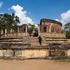 POLONNARUWA. AN UNESCO WORLD HERITAGE SITE. VATADAGE {QUADRANGLE].