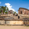 POLONNARUWA. QUADRANGLE. VATADAGE. AN UNESCO WORLD HERITAGE SITE. SRI LANKA.