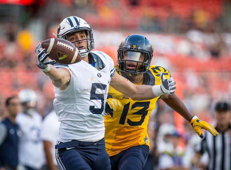 NCAA Football 2016: BYU vs West Virginia SEP 24