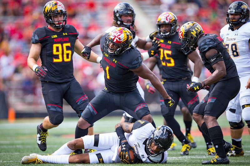 NCAA Football 2017: Towson vs Maryland SEP 9