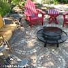 Brick & gravel patio