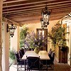 Spanish Outdoor Dining