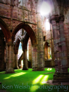 """House of Stone & Light""  Tintern Abbey    © Copyright Ken Welsh"