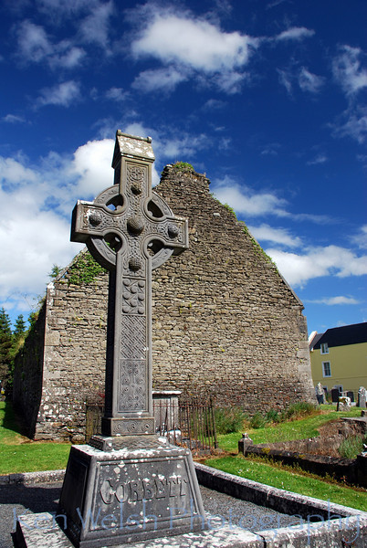 """Celtic Cross""<br /> <br /> Killarney, Ireland<br /> © Copyright Ken Welsh"