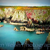 """Geology of Color""<br /> <br /> St. David's Head, Wales<br /> © Copyright Ken Welsh"