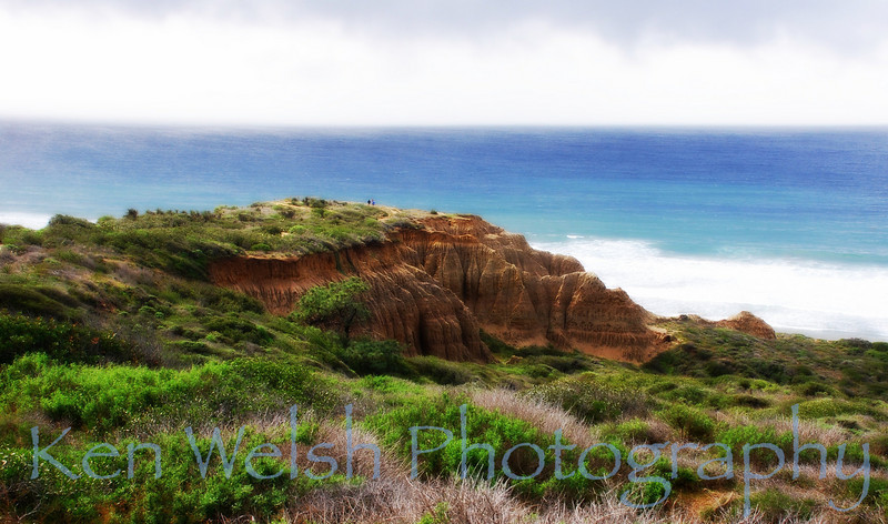 """Torrey Pines""<br /> <br /> © Copyright Ken Welsh"