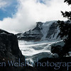 """Glacier at Valley of the Ten Peaks"" <br /> <br /> © Copyright Ken Welsh"