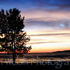 """Silhouette on a Painted Sky""<br /> <br /> Petoskey<br />  © Copyright Ken Welsh"