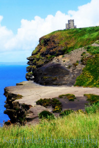 """Edge of the Earth""  Cliffs of Moher  © Copyright Ken Welsh"