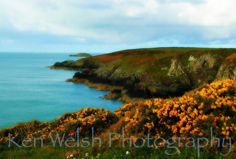 """Irish Sea""<br /> <br /> St. David's, Wales<br />  © Copyright Ken Welsh"