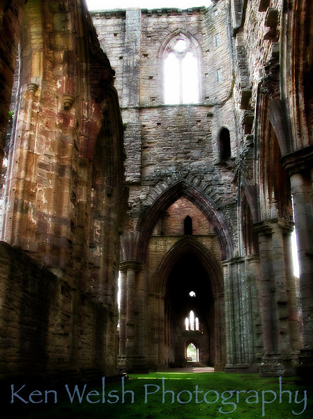 """The Ruins""<br /> <br /> Tintern Abbey  <br />  © Copyright Ken Welsh"