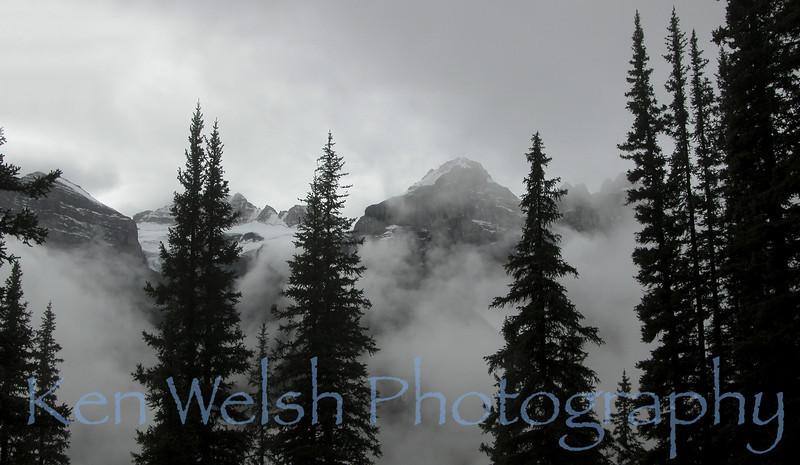 """""""Valley of the Ten Peaks""""  <br /> <br /> © Copyright Ken Welsh"""