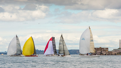 Yacht Racing on San Francisco Bay