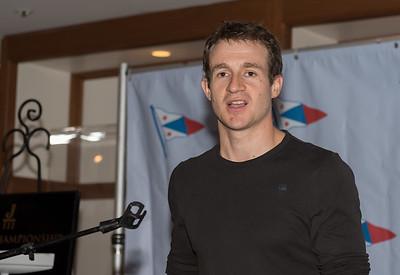 Mathias Rebholz, International Judge.
