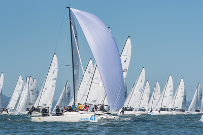 J/70 Worlds 2016, St. Francis Yacht Club. Friday, 20161001. Copyright 2016 Gerard Sheridan
