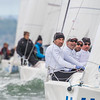Carlo Alberini racing Calvi Network in J/70 Worlds 2016