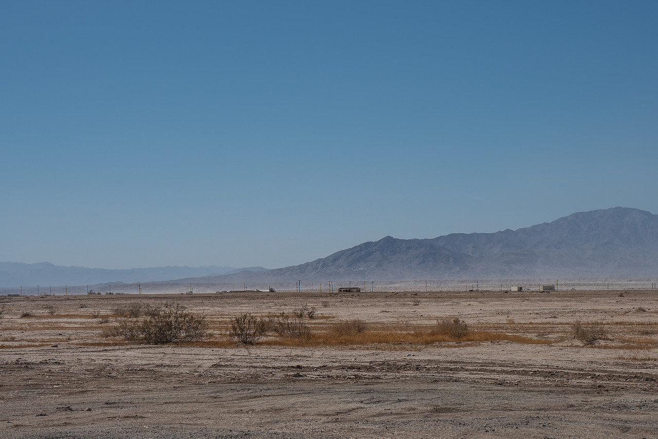 Looking across toward CA-86 and the Santa Rosa Mountains