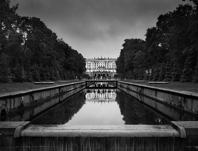 Storm Over Grand Peterhof Palace