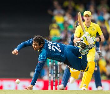 ICC Cricket World Cup 2015 Tournament Match, Australia v Sri Lanka, Sydney Cricket Ground; 8th March 2015