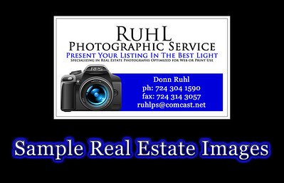 Sample Real Estate Images