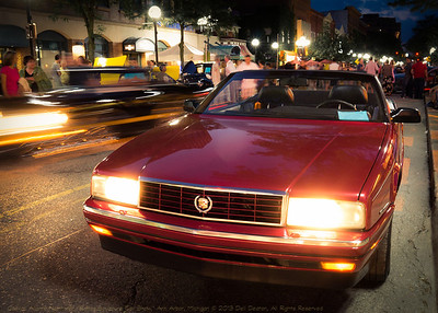 "Cadillac Allante Northstar, at 2013 ""Rolling Sculpture Car Show,"" Ann Arbor, Michigan"