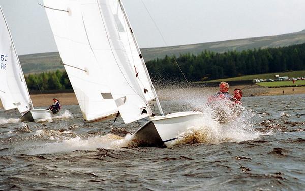 Sailing at Derwent Reservoir 3