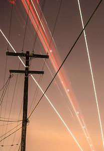 Diverging Lines