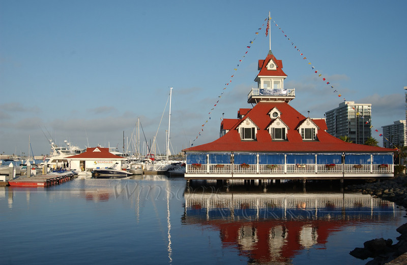 Yacht Club on Coronado Island, CA