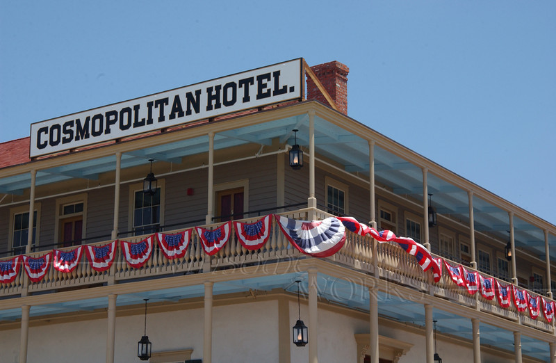 Cosmopolitan Hotel in San Diego Old Town