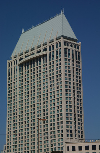 Building in San Diego downtown