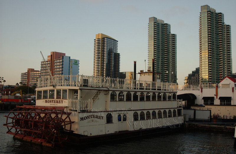 Riverboat in San Diego Harbor