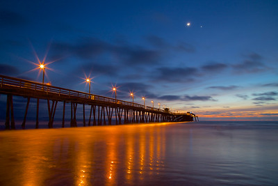 Imperial Beach Pier at Dusk
