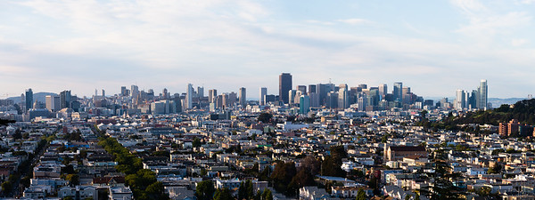 San Francisco Over the Mission