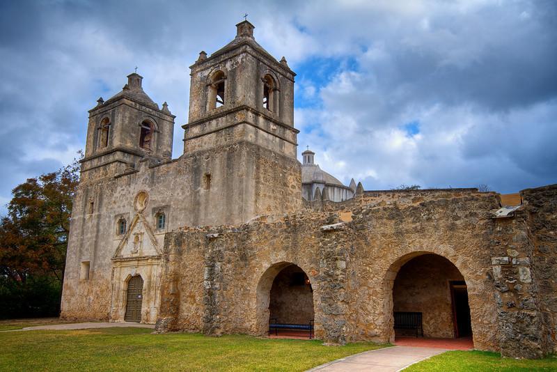 Mission Concepcion - San Antonio, Texas