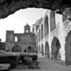 Mission San Jose through Arch - San Antonio, Texas