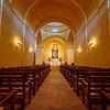 Mission Concepcion Interior - San Antonio, Texas