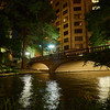 Riverwalk at Night - San Antonio, Texas