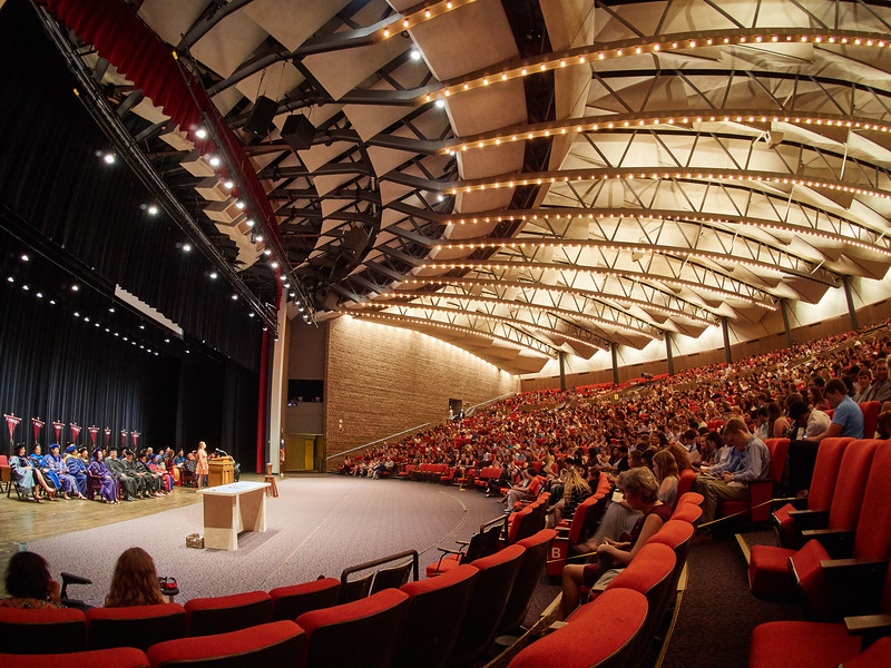 Convocation, Trinity University - San Antonio, Texas