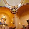 Interior Curves of Mission Concepcion - San Antonio, Texas