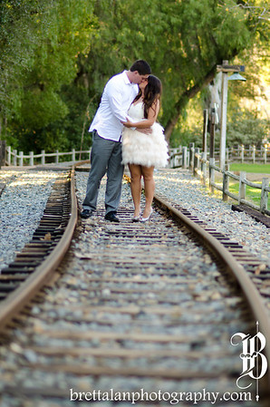 Old Poway Park Engagement Photography