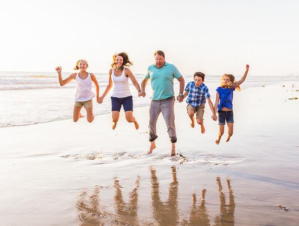 Smith Family Portrait Shoot at Del Mar