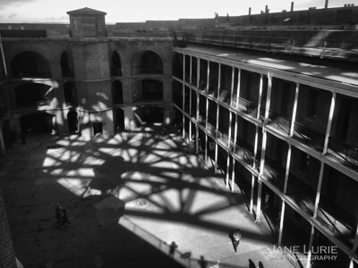 Fort Point Interior Shadows