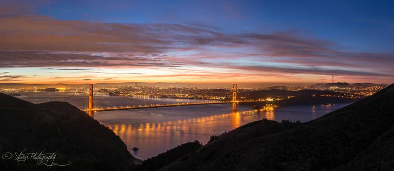 And a new day may begin - San Francisco Bay, CA